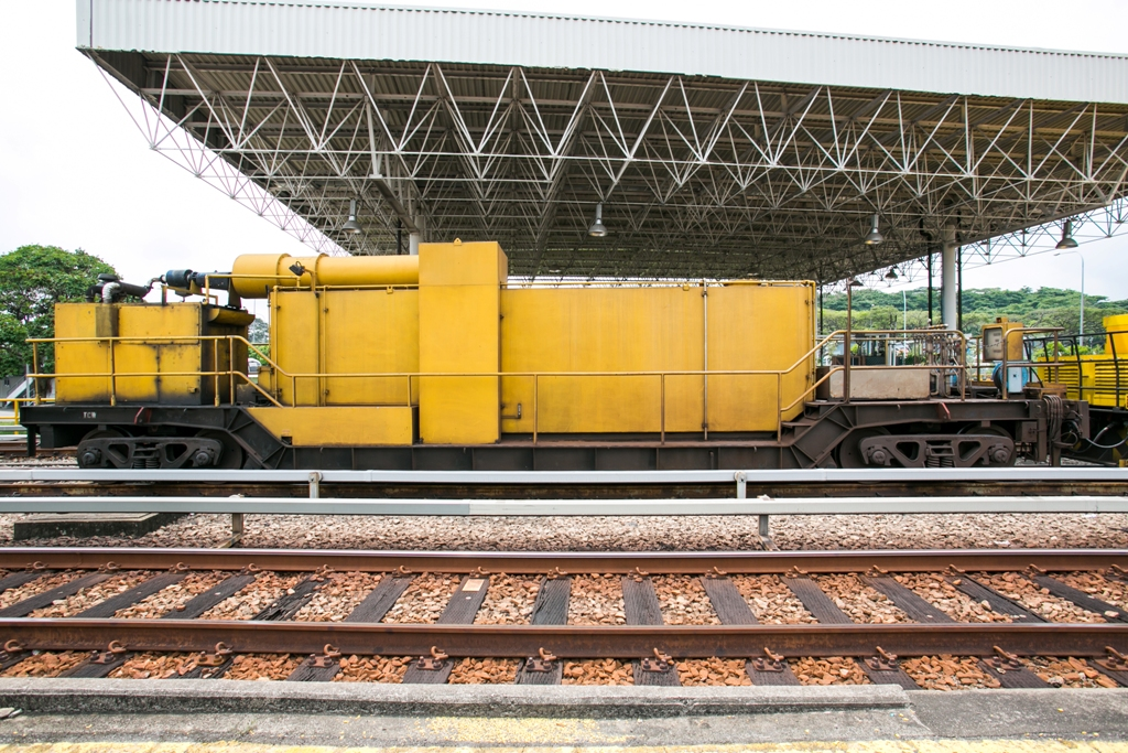 Tunnel Cleaning Wagon