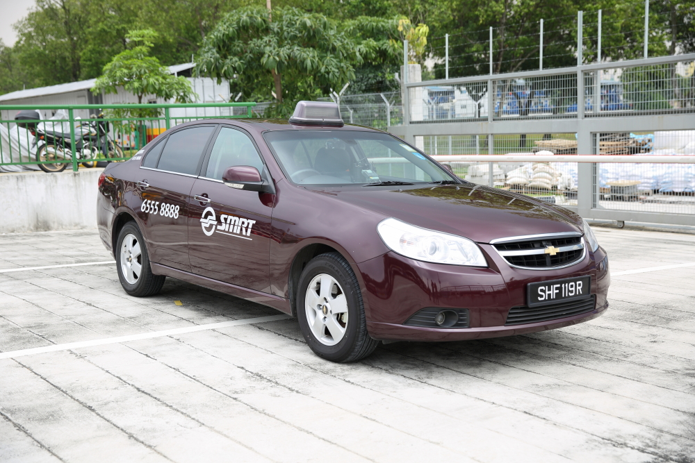 SMRT Taxi Chevrolet Epica