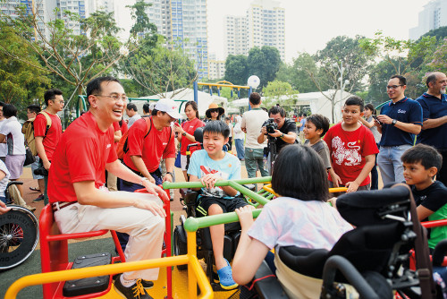 SMRT's Inclusive Playground