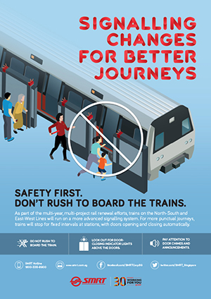 Signalling Changes for Better Journeys
