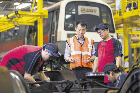 SMRT: Work in Progress with the Managing Director of SMRT Trains Mr. Lee Ling Wee