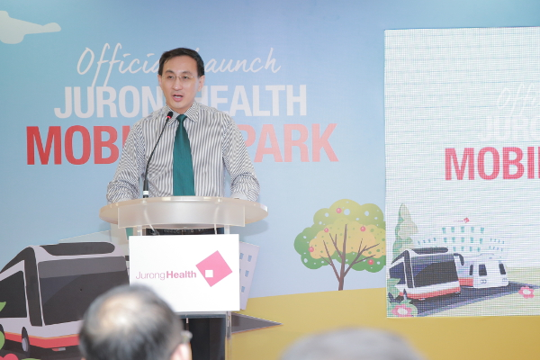 SMRT CEO Desmond Kuek Speech at Mobility Park Launch