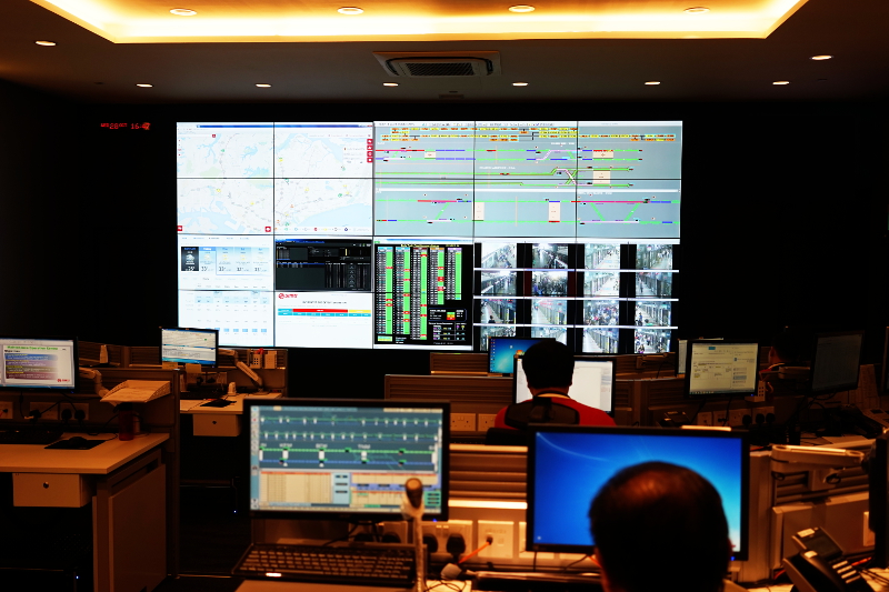 SMRT Maintenance Ops Centre