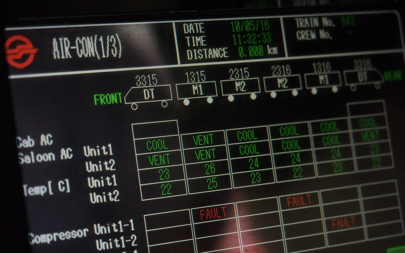SMRT on board monitoring