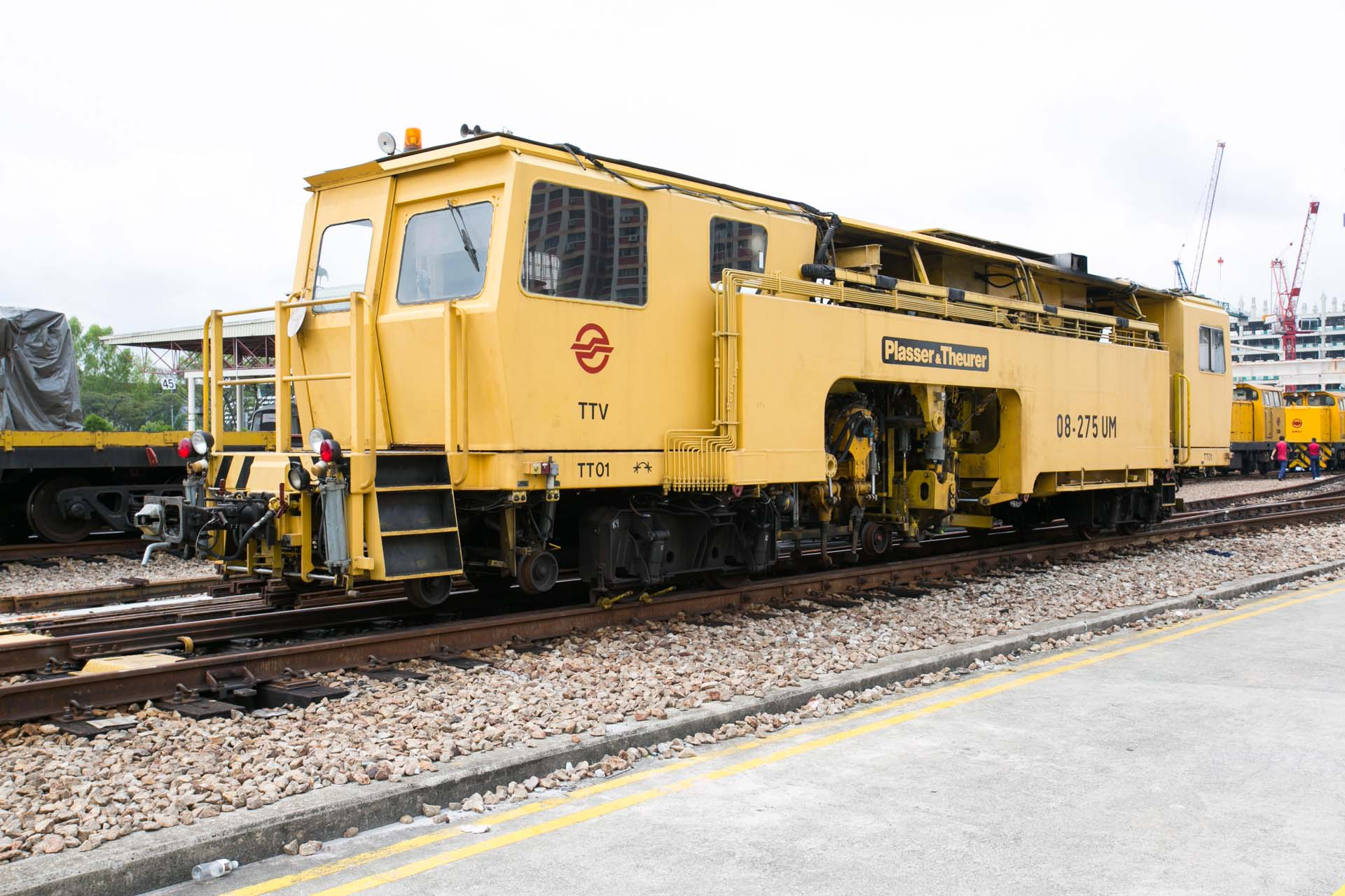 SMRT Track Tamping Vehicle