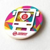 SMRT SG50 Mosiac Bus Button