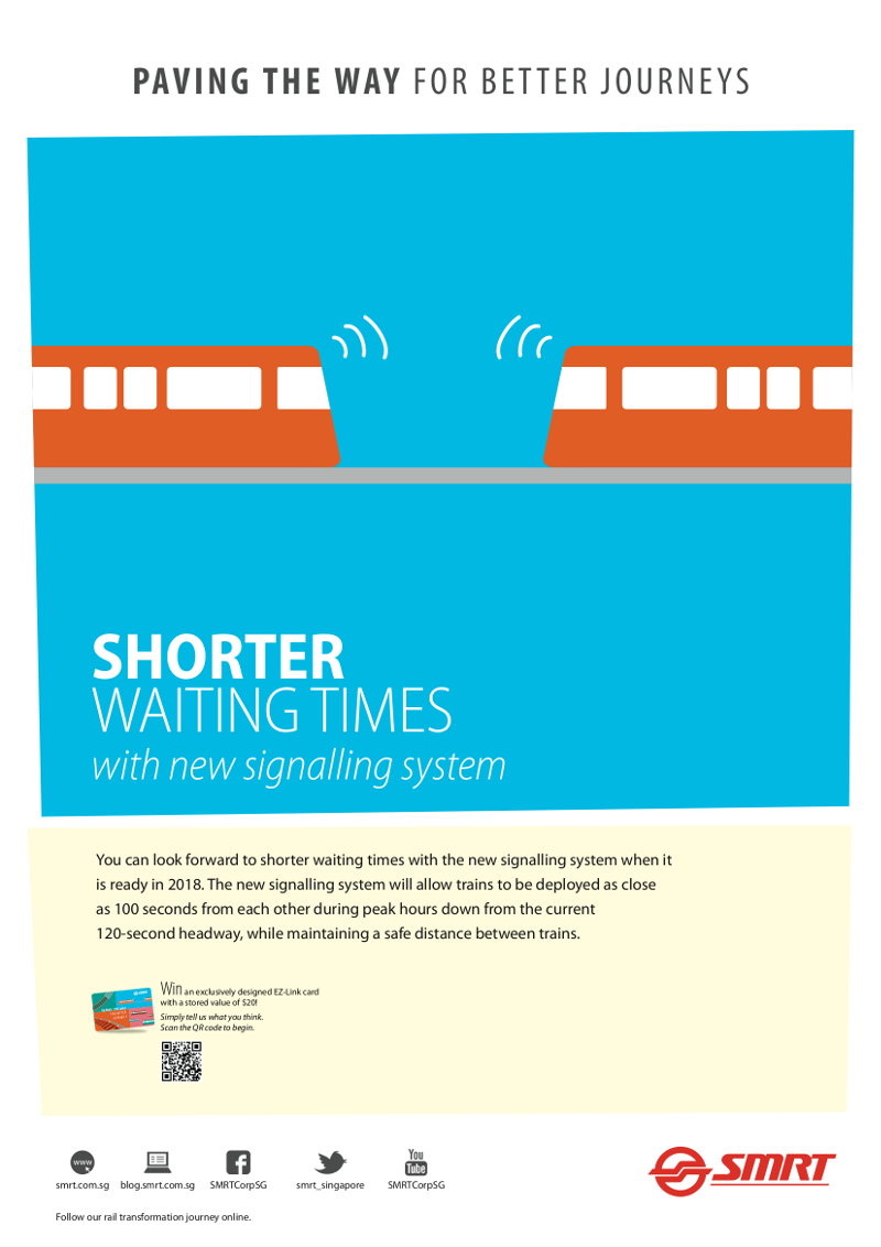 SMRT Better Journeys Shorter Waiting Times