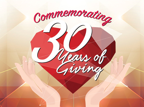 30 Years of Giving