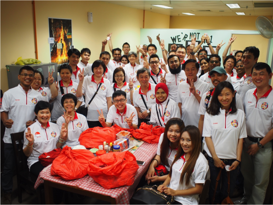 Orchard MRT Volunteers